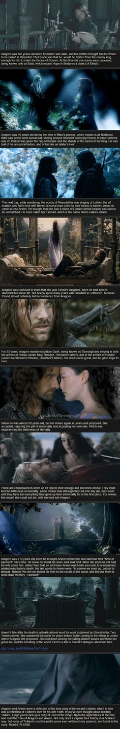 Relatively Unknown Lord of the Rings Facts - Aragorn and Arwen