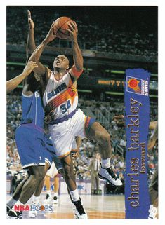Charles Barkley # 126 - 1995-96 Skybox Hoops Basketball