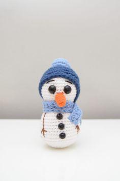 Crochet Hooks, Free Crochet, Knit Crochet, Crochet Snowman, Chrochet, Yarn Needle, Slip Stitch, Free Pattern, Crochet Patterns