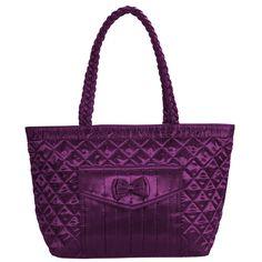 Dámská fialová luxusní kabelka Naraya s mašlí NNBS403179