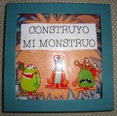 """Os voy a presentar una de mis últimas creaciones para trabajar el conteo y la cantidad. El juego se llama """"Construyo mi monstruo"""". En clase..."""