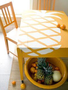 13 provas de que a estampa de abacaxi já invadiu a decoração   Casa
