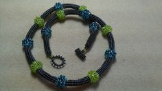 Bubbles & Bumps- design by Jill Wiseman, made by Jazzy Jewelry