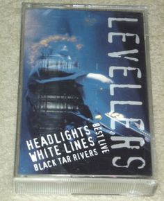 Levellers Best Live-Headlights White Lines Black tar Rivers 1996 rare tape