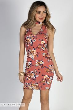 7cc635257a7ea 58 Best Pretty Posies - Floral Print Dresses images | Hot dress ...