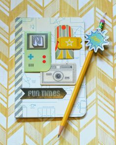 Create Paper: Notepad and Pencils