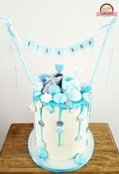 Itu0027s A Boy Cake By Ingeu0027s Cupu0026Cake Factory