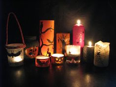 Ideas art for everyone, DIY - Joanna Wajdenfeld: Lanterns for Halloween