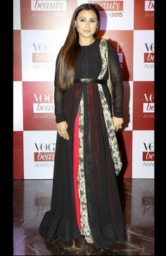 Rani Mukerji at Vogue Beauty Awards 2015. #Bollywood #VogueBeautyAwards #Fashion #Style #Beauty