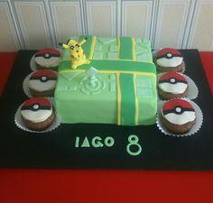 Tarta Pokemon Go #PokemonGo cake by dulcemelcocha