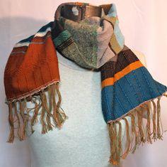 Norman - Woven Earthy Fashion Accessory // Peacock by pidgepidge