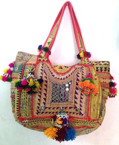 Vintage banjara bag boho Indian gypsy tribal hand by ROYALEJAYPORE, $99.00