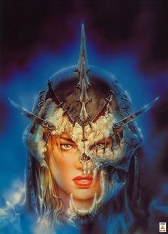 Secrets - The Voice of Deceit  by Luis Royo