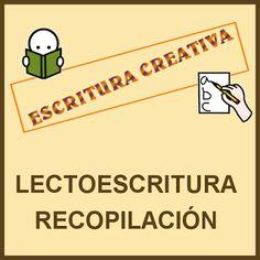 DIFICULTADES LECTORAS: ESCRITURA CREATIVA: VARIOS RECURSOS Abc Activities, Ap Spanish, Spanish Teacher, Homeschool, Writer, Language, Lettering, Teaching, Education