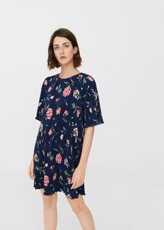 Discover the latest trends in Mango fashion, footwear and accessories. Shop the best outfits for this season at our online store. Mango Fashion, Fashion Addict, Evening Dresses, Latest Trends, Cool Outfits, Cold Shoulder Dress, Short Sleeve Dresses, Casual, Clothes