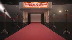 red carpet rental and factory direct red carpets on sale. For more information about factory direct event carpets, go to http://www.redcarpetsystems.com/products-services/event-carpets-for-sale/