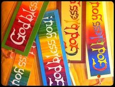 Bookmarks made for Among Friends Senior Day Care Center in Chicago Illinois