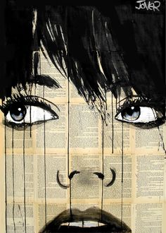 Saatchi Online Artist: Loui Jover; Pen and Ink, Drawing the hours