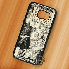 Darth Vader Vintage Comics - Samsung Galaxy S7 S6 S5 Note 7 Cases & Covers