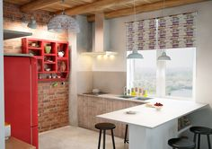 Фотография: Кухня и столовая в стиле Лофт, Скандинавский, Квартира, Дома и квартиры, IKEA, Проект недели, скандинавский лофт – фото на InMyRoom.ru