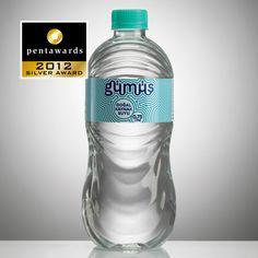 Silver Pentaward 2012  Beverages –  Water    Brand: GUMUS    Entrant: Ypsilon Tasarim    Country: TURKEY    www.ypsilontasarim.com