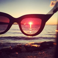 #croatia #brac #supetar #sea #sunset #sunglasses #travel
