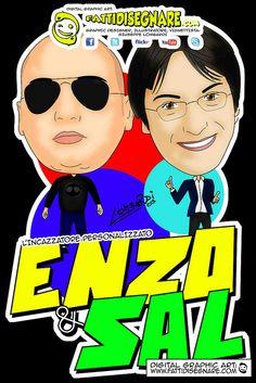enzo & sal MADE IN SUD  L'incazzatore Personalizzato #enzoesal #incazzatorepersonalizzato #madeinsud #fattidisegnare