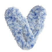 Fuzzy Footies - Powder Blue. Give your feet the warm fuzzies with these comfy footies. Super soft and silky both inside and out, with a padded, slip resistant sole - you won't ever want to take them off!