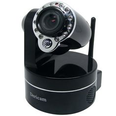 Dericam Cannon Wireless Pan/Tilt/Zoom Network IP Camera with IR Cut & 10M Night Vision (M801WB, Black) by Dericam. $109.99. *Fantastic price for feature set *Easy wired to wireless IP set up *Works with Smartphone/Mobile devices (iPhone/iPad, Android & Blackberry) & browsers *IR cut filter for better image quality *Wide ranging remote pan/tilt functionality - 300° pan, 80° tilt *3X optical zoom *Excellent night vision - IR LEDs work up to 10m/32 feet *Motion se...
