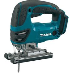 Makita LXT Lithium-Ion Jig Saw (Tool Only, No Battery) Makita's LXT Lithium-Ion Cordless Jig Saw seamlessly combines precision and power with Festool Systainer, Serra Circular, Circular Saw, Woodworking Jigsaw, Woodworking Crafts, Woodworking Garage, Woodworking Supplies, Woodworking Furniture, Dremel