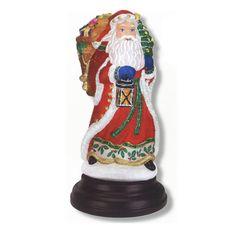 Very popular Old World Christmas - Radiant Santa Light @ FlagandBanner.com