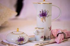 Café da manhã ainda mais gostoso com a elegantíssima porcelana Avalon da Vista Alegre!!