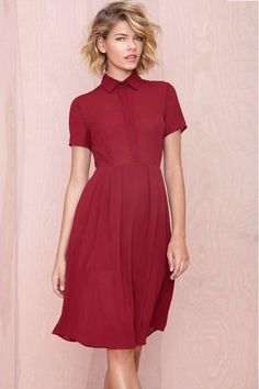 30 Under-$50 Valentine's Day Dresses For A Perfect Date #refinery29  http://www.refinery29.com/cheap-valentines-day-dresses#slide-8  This + bottle of wine + main squeeze = perfect.