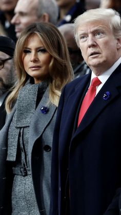 President & First Lady Melania Trump, Paris, John Trump, Donald Trump, Melania Knauss Trump, Presidential History, Greatest Presidents, First Lady Melania Trump, Hair Makeup, Trump Tower, Outfits