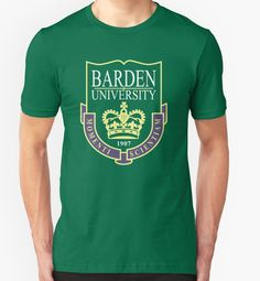 Pitch Perfect and Pitch Perfect 2's Barden University, home of the a cappella singing groups The Treblemakers and the Barden Bellas • Also available as a sticker, print, phone case, and more | #expandabubble
