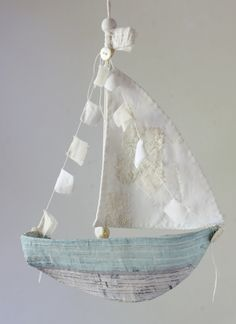 Paper mache ships: 3 templates and instruction by annwood on Etsy