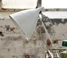 Tse & Tse Cornet Clip Lamp in Glazed Ceramic | Remodelista