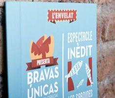 Diseño carta L'ENVELAT de BADALONA by Chickenboxstudio