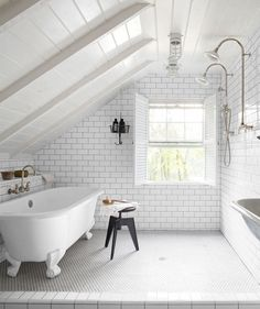 GARDEN STYLE LIVING — the famous bathroom designed and owned by one of...