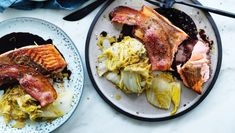 Neil Perry's classic roast salmon recipe