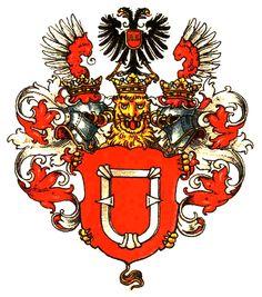 coat of arms, Zedlitz-Neukirch - Ancestors. Valerie Frfr. von Zedlitz-Neukirch was my great-great grandmother, married to Adolf von Kluetzow around 1860