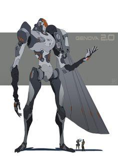 ArtStation - GENOVA 2.0, Hugo Richard
