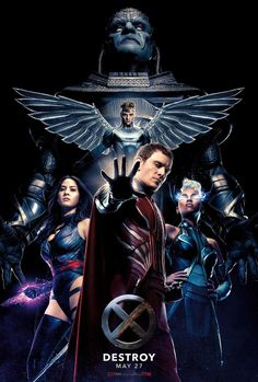 X-Men: Apocalypse is nigh, and today we've got an exclusive look at the hierarchy of mutants-gone-mad who will make life difficult for Xavier (James McAvoy) and friends in Fox's upcoming sequel.