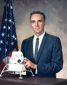 Duane Edgar Graveline (MD, MPH) (born on March 2, 1931 in Newport, Vermont) is an American physician and was a NASA astronaut. He was one of the six scientists selected in 1965, in NASA's fourth group of astronauts, for the Apollo program. He is best known for being immersed in water for seven days as part of his zero gravity deconditioning research while a United States Air Force (USAF) research scientist.