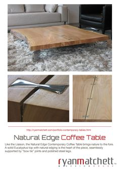 Cape Town based Industrial Designer Ryan Matchett, specializes in creating a variety of furnishings and décor accessories for lodges, hotels, restaurants and private homes both locally and internationally. Contemporary Coffee Table, Lodges, Industrial Design, Decorative Accessories, House Design, Natural, Furniture, Home Decor, Cabins