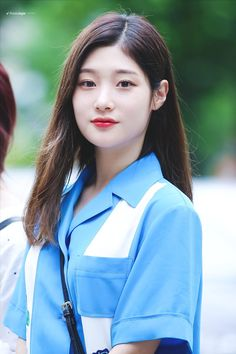 #Chaeyeon #IOI #DIA #채연 #아이오아이 #다이아 Kpop Girl Groups, Korean Girl Groups, Kpop Girls, Korean Women, South Korean Girls, Korean Beauty, Asian Beauty, Jung Chaeyeon, Kim Sejeong