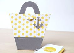 Silhouette Blog: Gift Idea :: Beach Bag Notecard Set