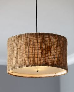 "Large ""Bureston"" Pendant Light at Horchow."