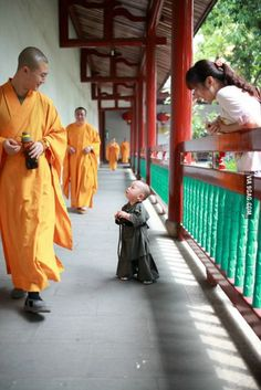 Excuse me, sir, do you know where I could find some enlightenment?  Shaolin monks