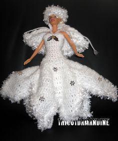 tuto robe reine des neiges au crochet
